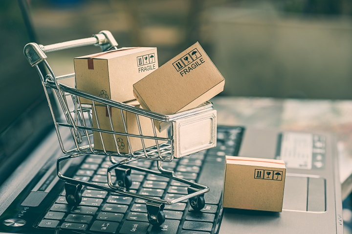 Boxes in Cart