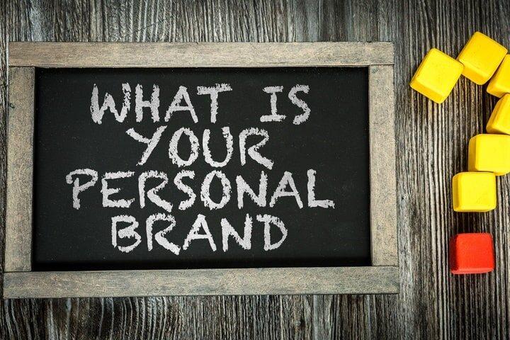 Personal Brand Chalkboard